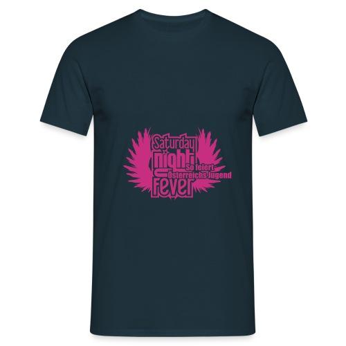 25cm breite snf logo - Männer T-Shirt