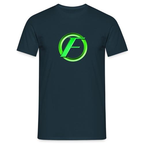 Fluffy 'F' Logo - Men's T-Shirt
