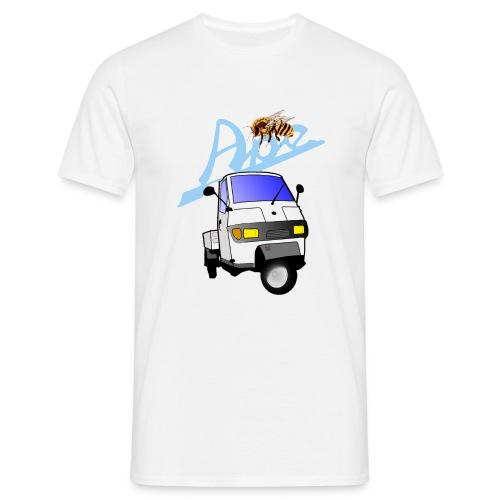 apepritsche weiss - Männer T-Shirt