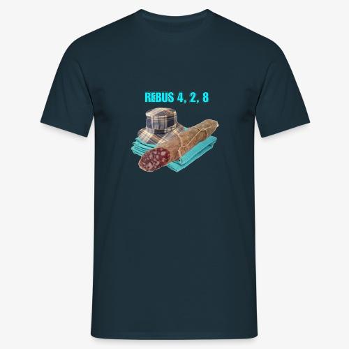 NDW REBUS - Maglietta da uomo