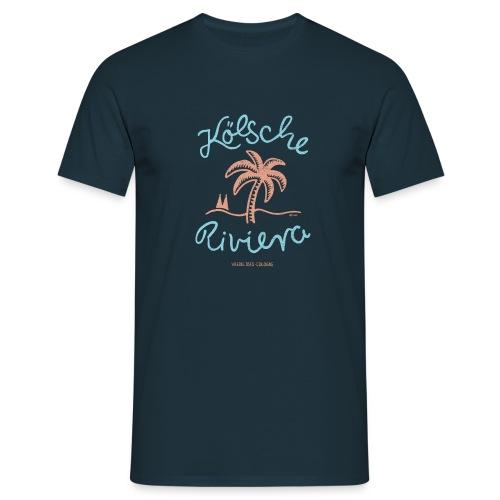 Kölsche Riviera Cologne Rodenkirchen Köln Design - Männer T-Shirt