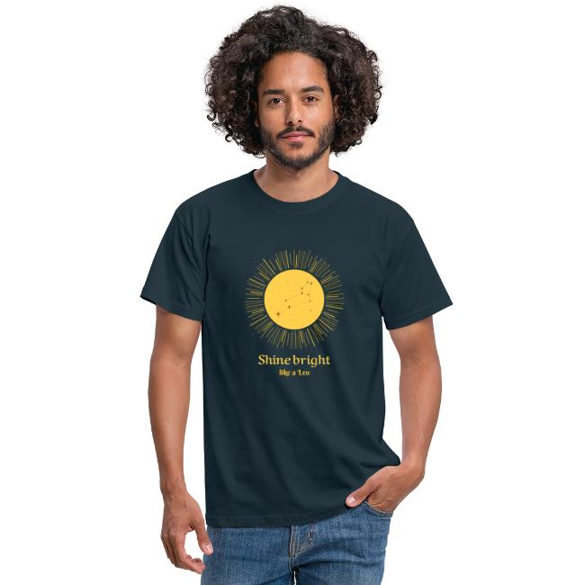 leo zodiac t shirt design maker 1426c