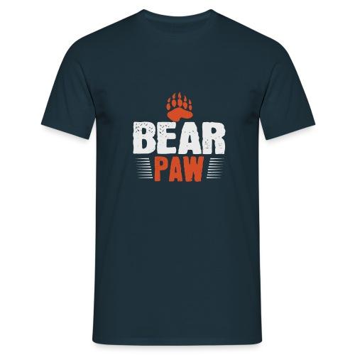 Bear paw - Mannen T-shirt