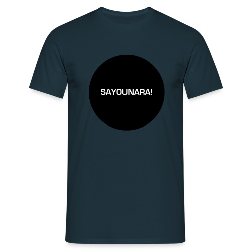 sayounara - Männer T-Shirt