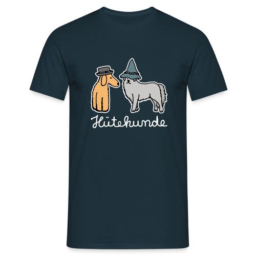 Hütehunde Hunde mit Hut Huetehund - Männer T-Shirt