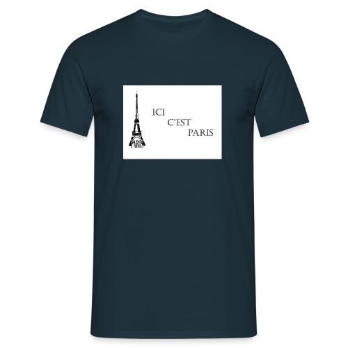 ici c'est Paris - T-shirt Homme