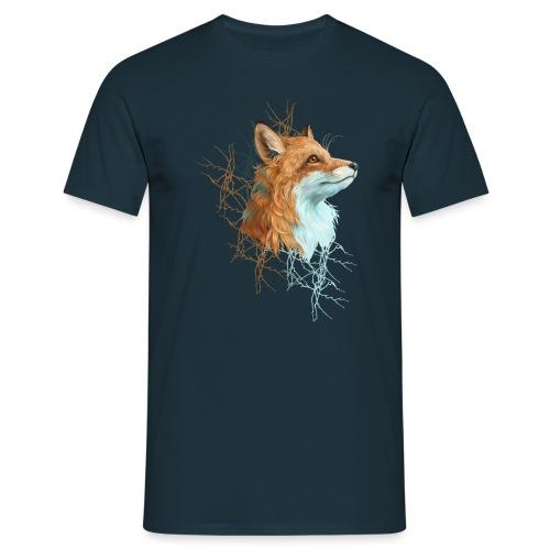 Happy the Fox - Männer T-Shirt