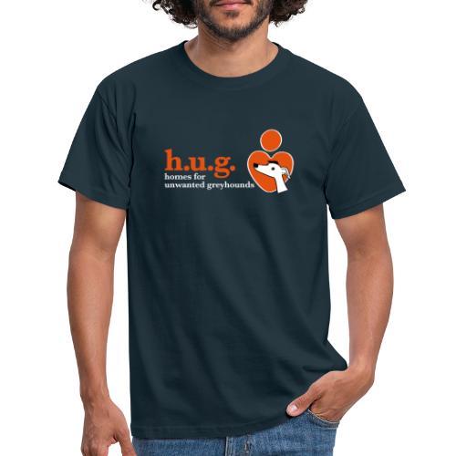 HUG logo branded gear - Men's T-Shirt