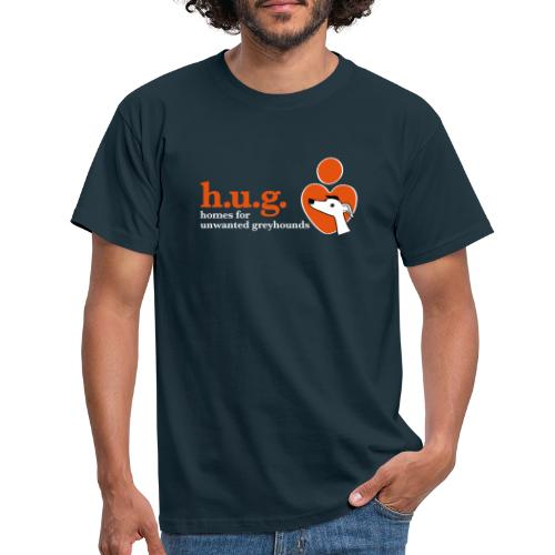 HUG logo branded gear - Men's T-Shirt