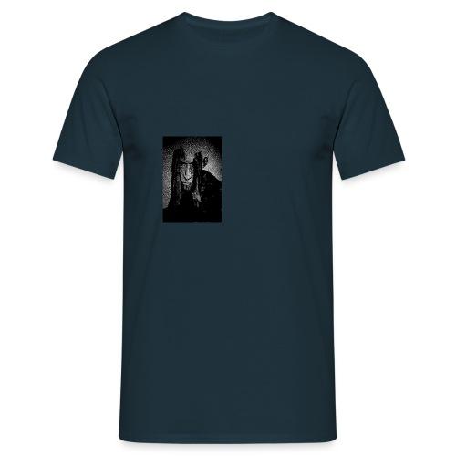 Face b w - Männer T-Shirt