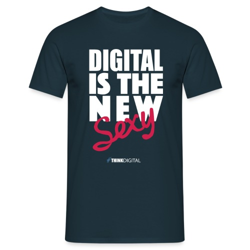 DIGITAL is the New Sexy - Maglietta da uomo