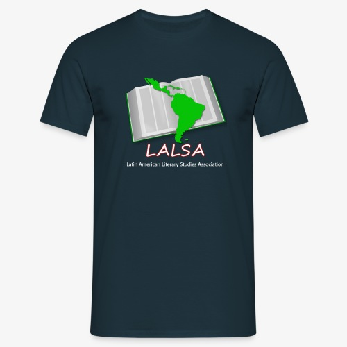 LALSA Light Lettering - Men's T-Shirt