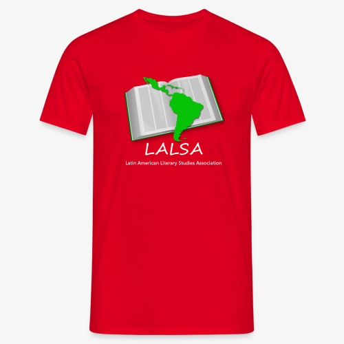 LALSA Light Lettering - Men's T-Shirt