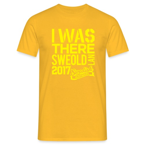 I was there - T-shirt herr