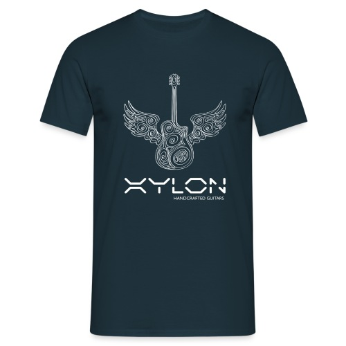 Xylon Guitars Premium T-shirt (white design) - Men's T-Shirt