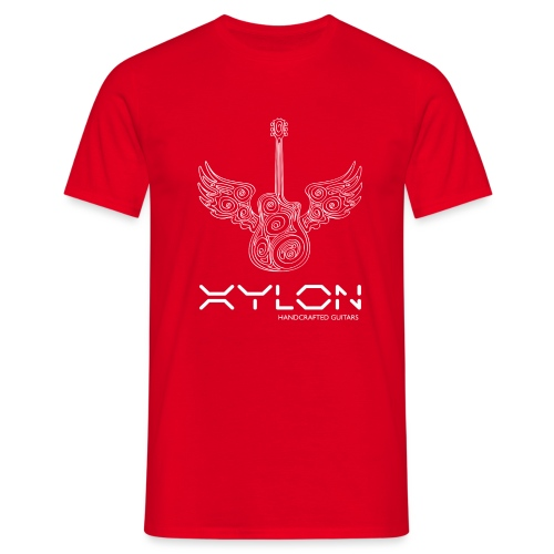 Xylon Guitars Premium T-shirt (white design) - Men's T-Shirt