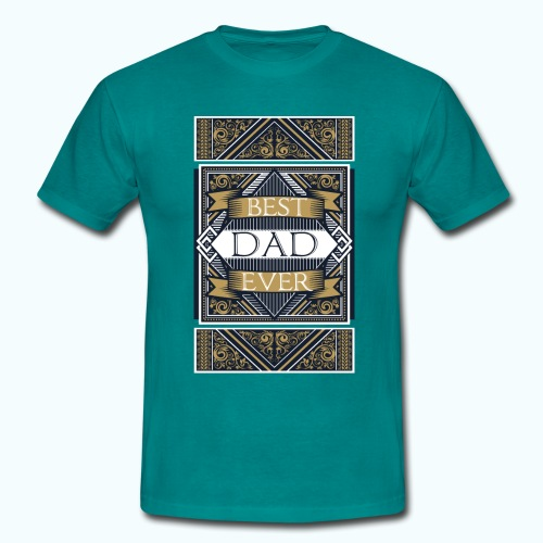 Best Dad Ever Retro Vintage Limited Edition - Men's T-Shirt