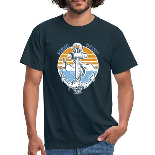 Ankerpunkt Nordsee Ostsee - Männer T-Shirt