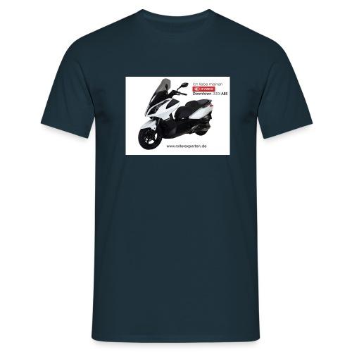 downtown 300i abs liebe - Männer T-Shirt