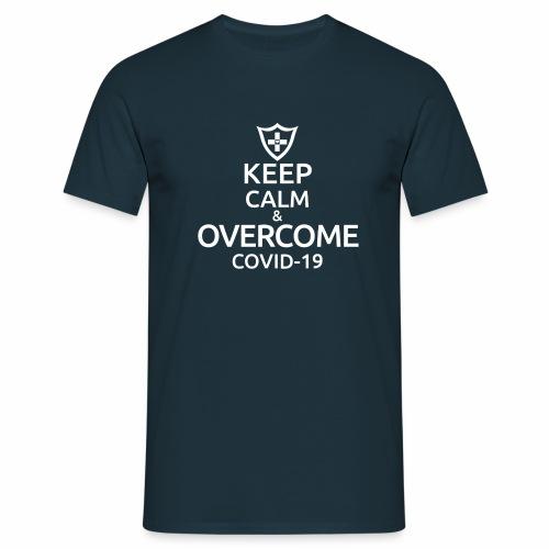 Keep calm and overcome - Koszulka męska