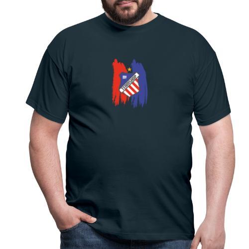 190805 MyTeamShop TShirts Farbstreifen transparent - Männer T-Shirt