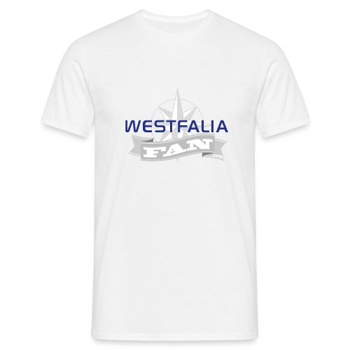 westfaliafanlogo - Männer T-Shirt