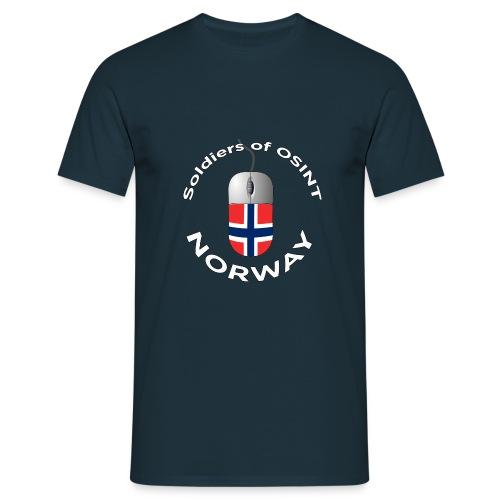 Soldiers of OSINT - T-skjorte for menn