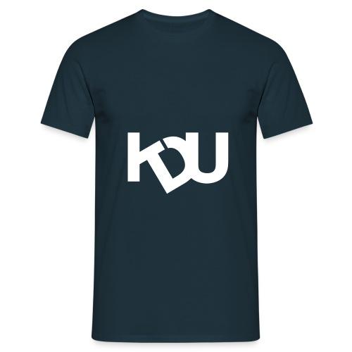kdu vit - T-shirt herr