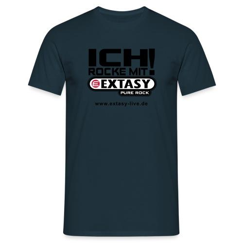 extasy 3farbig - Männer T-Shirt