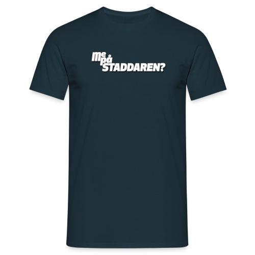 staddaren liten - T-skjorte for menn
