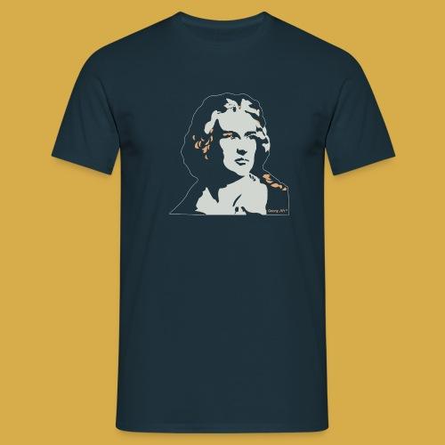 Friedrich Schiller black - Männer T-Shirt