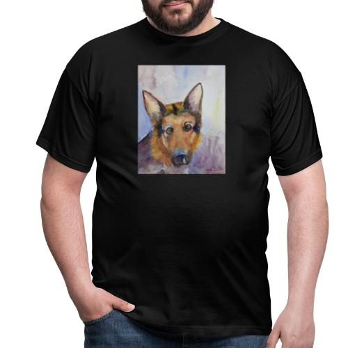german shepherd wc - Herre-T-shirt