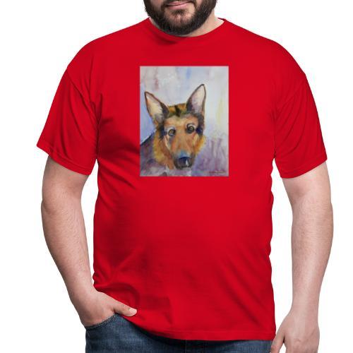 german shepherd wc - Herre-T-shirt