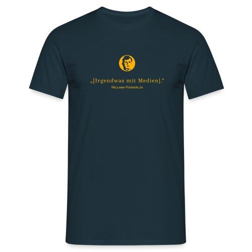 irgendwasmitmedienheadn 2016 - Männer T-Shirt