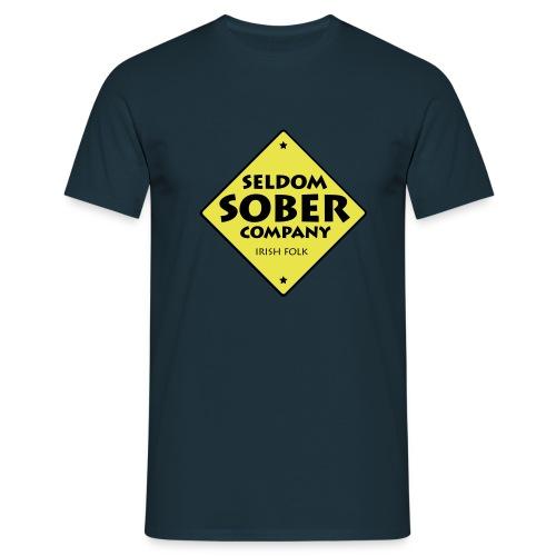 Seldom Sober Company Logo - Männer T-Shirt