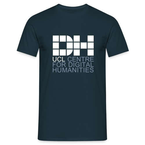 DH UCL captioned remix - Men's T-Shirt