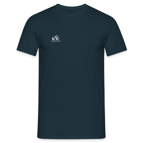MTCT Logo with Lettering Black - Men's T-Shirt