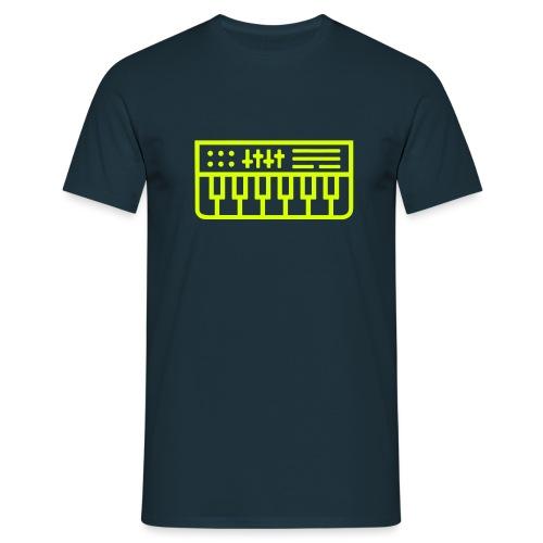 Synth Nerd - Men's T-Shirt
