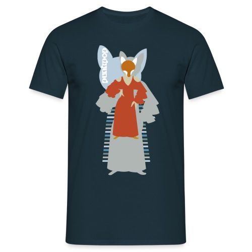 Progressive Fox PunkPop - Maglietta da uomo
