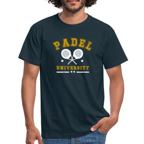 Padel University Vintage - T-shirt herr