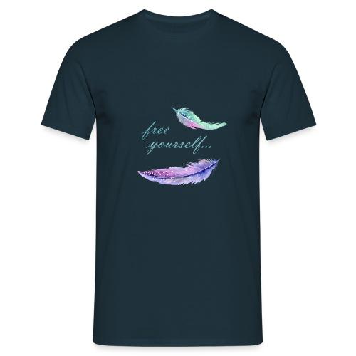 free yourself - Männer T-Shirt