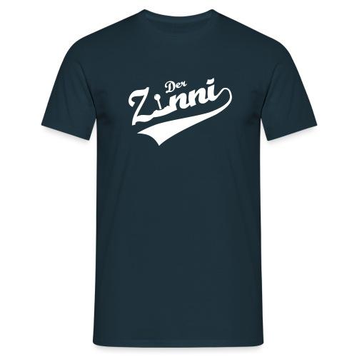DerZinni - Logo, weiß - Männer T-Shirt