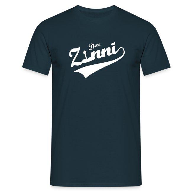 DerZinni - Logo, weiß