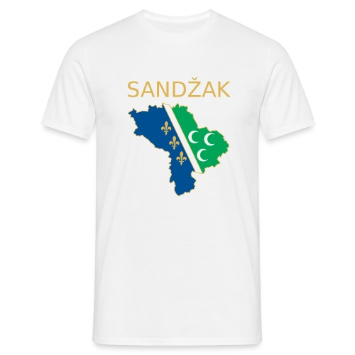 Sandzak - Männer T-Shirt