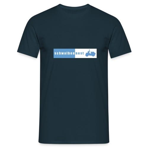 schwalbennest logo gross - Männer T-Shirt