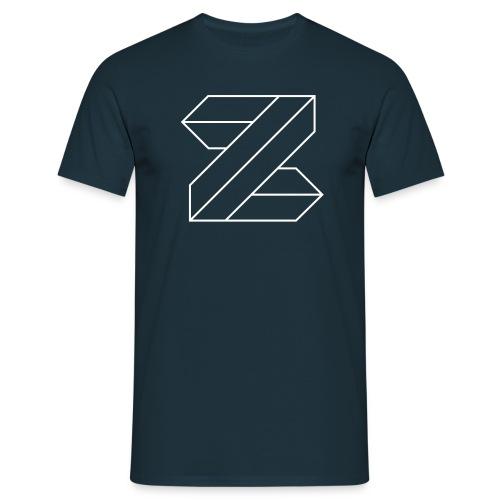 Zimmer_Logo_ws - Men's T-Shirt