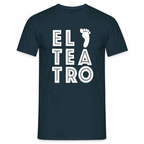 El Teatro weiß - Männer T-Shirt