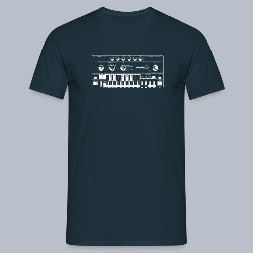 Proper T s Acid Bass WHIT - Men's T-Shirt