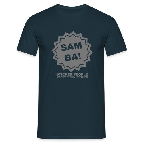 stickersamba - Camiseta hombre