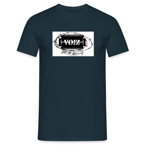 VOIZ weisses shirt - Männer T-Shirt